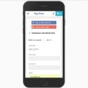 Social login dark button design