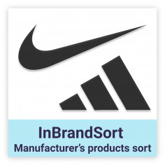 InBrandSort - Sort products in Brand list