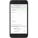 One page checkout on mobile smartphone